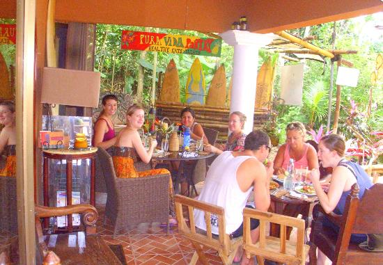 Pura Vida Pantry, Playa Herradura, Outdoor Dining