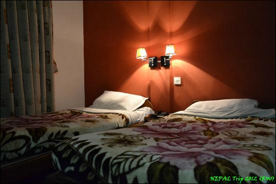 OYO 120 Hotel Tayoma: Average but comfy beds