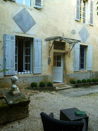 B & B of the Marcs d'Or : TERRASSE