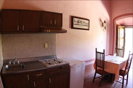 Hotel del Vasco: Cocina