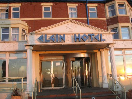 Elgin Hotel Blackpool Front Of The