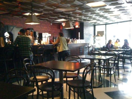 Madame Zuzu's Tea House: Cool and calm atmosphere inside. Good mix of patrons.