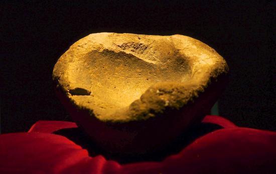 Museum of Icelandic Sorcery & Witchcraft: Vase sacrificiel Viking avec traces de sang!