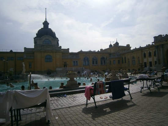 Széchenyi Baths and Pool: bellissime!!!!