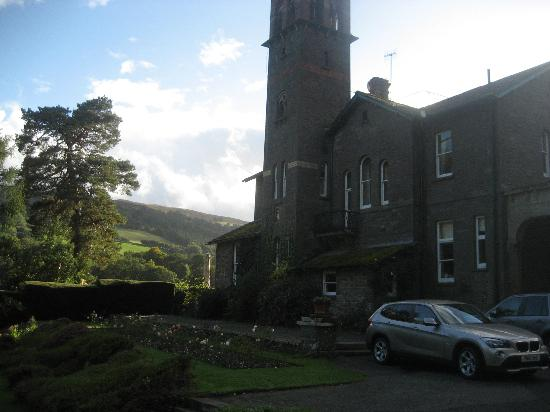 Gliffaes Country House Hotel: Good scenery shot; Not the best hotel shot
