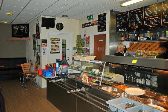 Self-service in Cafe EDEN - Picture of Cafe EDEN, Portadown ...