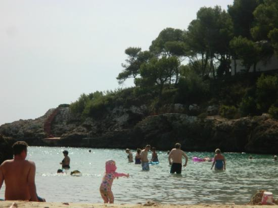 Cala d'Or Gardens: beach