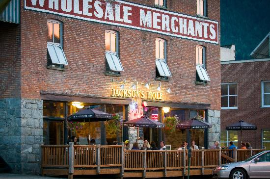 August evening at Jackson's Hole & Grill