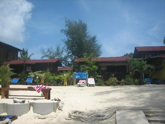 Bayu Dive Lodge: View at the rooms
