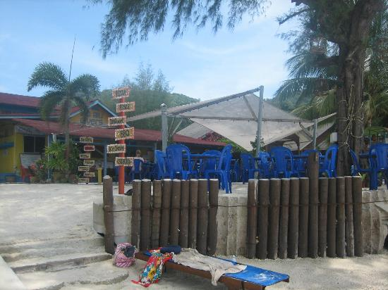 Bayu Dive Lodge: The restaurant