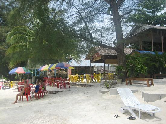 Bayu Dive Lodge: Cafe B-first