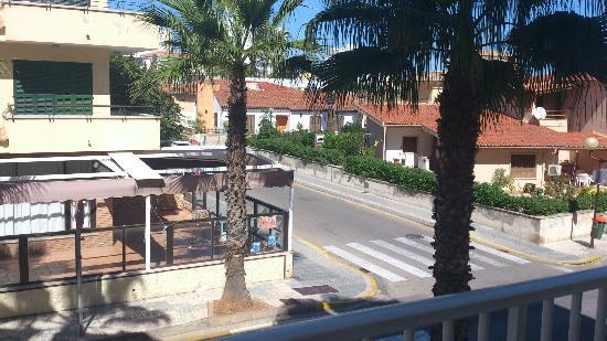 Aparthotel Maracaibo: Utsikt från, hotellet.