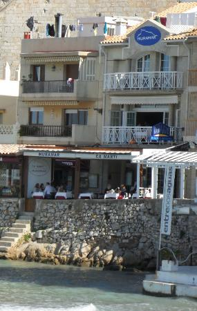 Hotel Boutique La Mar: terraza delMuramar