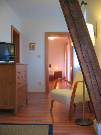Apparthotel Maier: Wohnzimmer