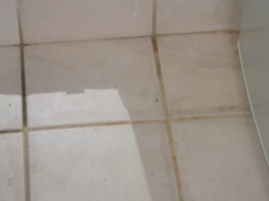 Seralago Hotel and Suites: Bathroom floor