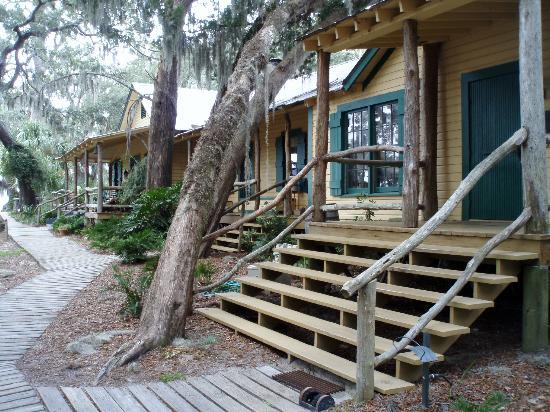 The Lodge on Little St. Simons Island: Exterior main lodge.