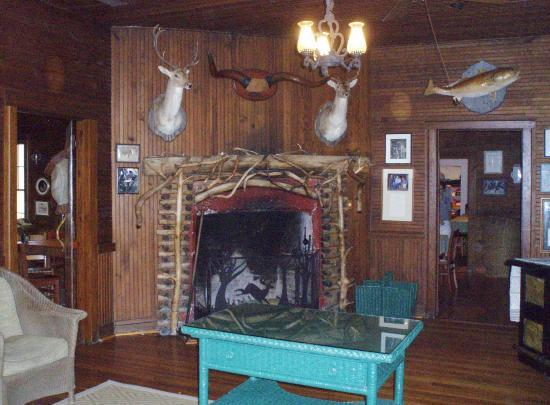 The Lodge on Little St. Simons Island: Main lodge
