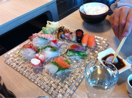 Raw sushi by Sodexo: sashimi