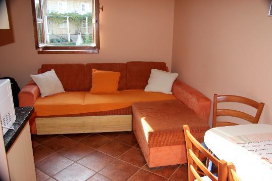 Apartments Dub Cavtat: Seating area