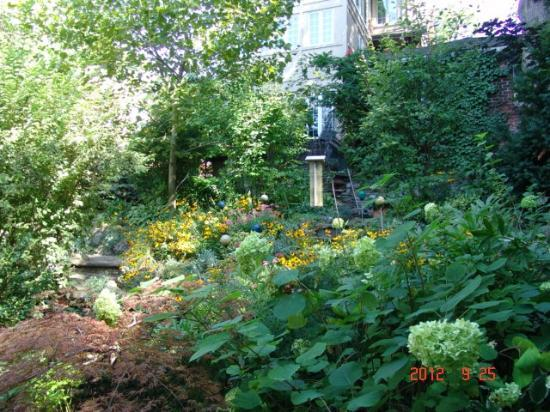 By The Park Bed and Breakfast: Garden
