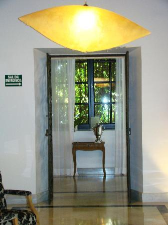 Hospes Palacio del Bailio: area recepción
