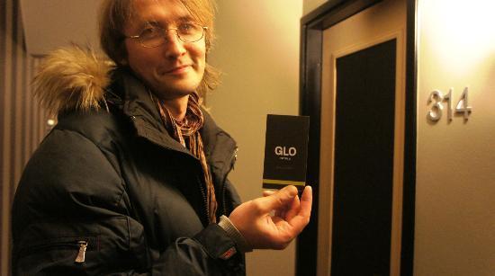 GLO Hotel Art: вход в номер в Гло