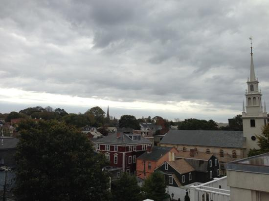 The Vanderbilt Grace: rooftop view