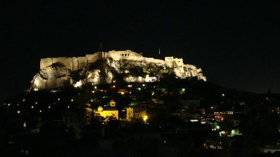Electra Palace Hotel - Athens: Acropolis at night
