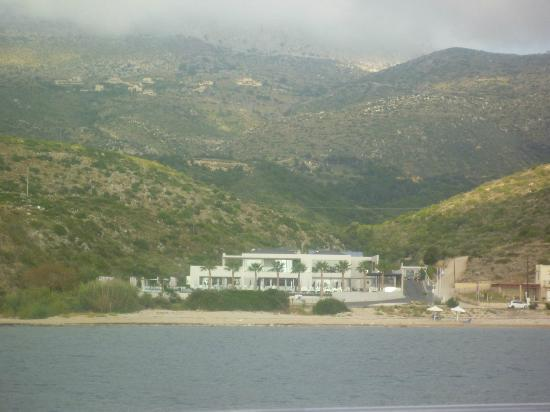 TesoroBlu Hotel & Spa: View from the sea