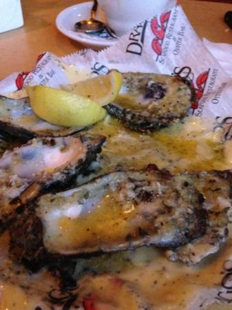 Drago's Seafood Restaurant: char grilled oysters