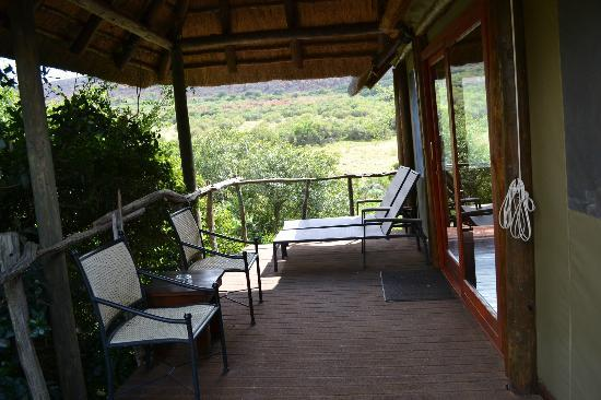 Shamwari Game Reserve Lodges: Our viewing deck