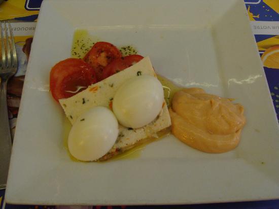 L'Assignat: Pastel de verduras exquisito.