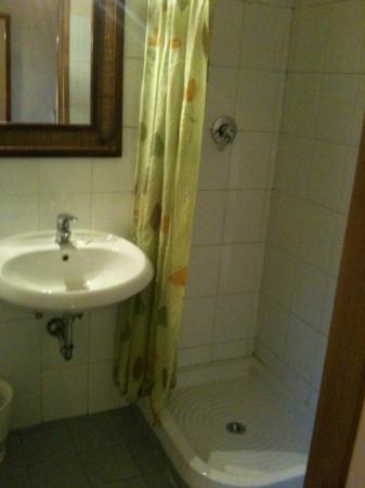Antico Casale: il bagno del tugurio