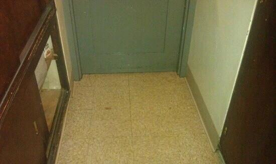 University Club of Chicago:                   3rd floor elevator lobby. I had to use this dirty filthy lobby because I had j