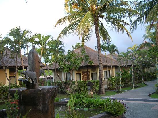 Aneka Lovina Beach Hotel: Paseo central