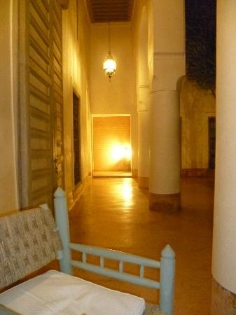 Le Riad Berbère: point de vue sur le patio