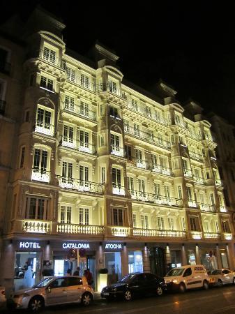 Catalonia Atocha The Hotel At Night