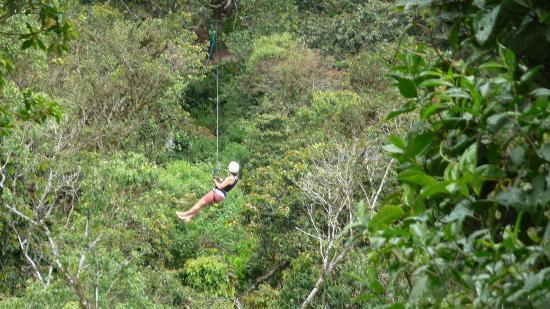 Casa Divina Lodge: Ziplining