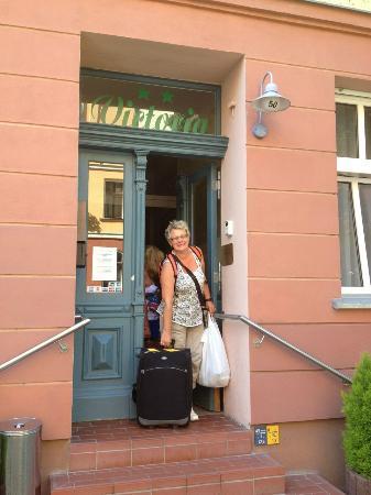Hotel-Pension Victoria : Ingång