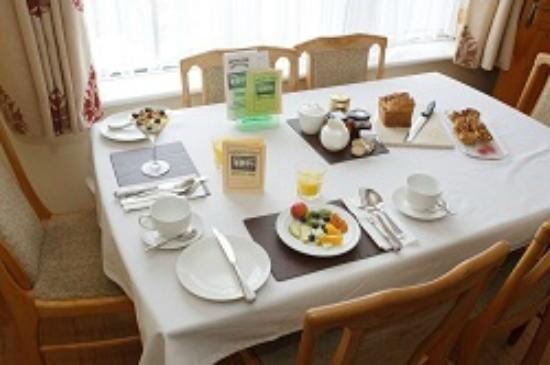 Healthy Breakfast at Auburn Lodge B&B