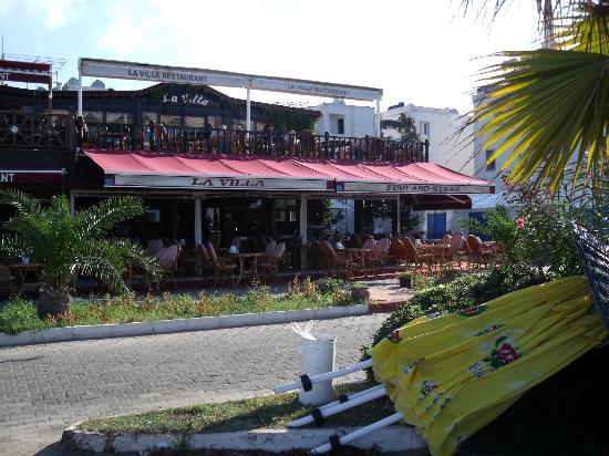 La Villa Restaurant: la villa