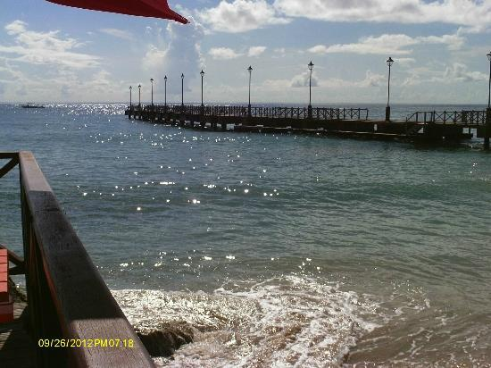 Sugar Cane Club Hotel & Spa: Speightstown pier from Fishermans pub (separate review)