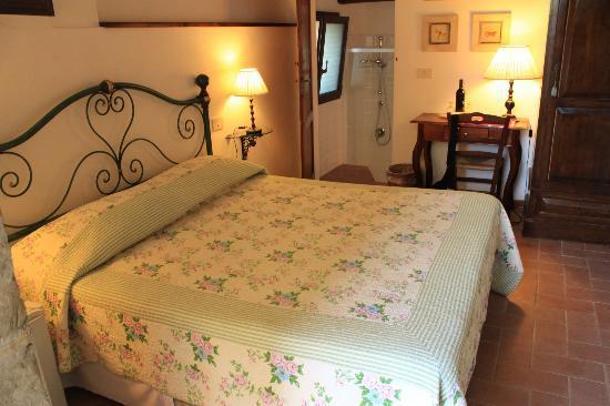 B&b Le Querciole Del Chianti : notre chambre était très comfortable