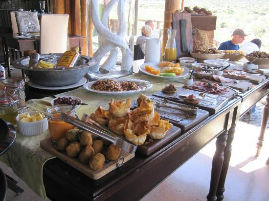 Kwandwe Great Fish River Lodge: fabulous brunch