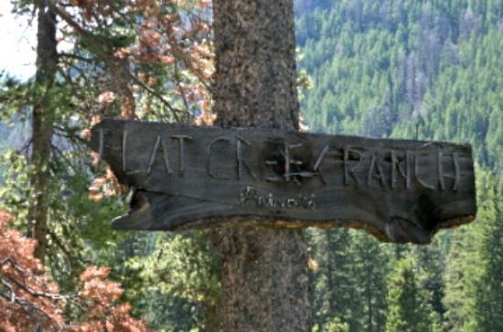 Flat Creek Ranch: Flat Creek