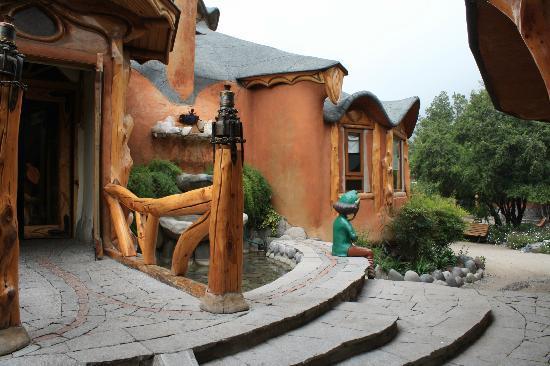 Casa Bosque: Outside