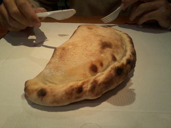 Pizzeria Ravecca da Pino : calzone 3 febbraio