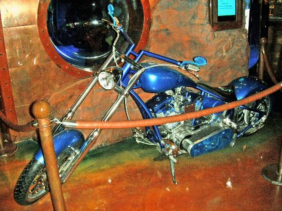 Silverton Hotel and Casino: Custom Mermaid Bike on display at the Silverton
