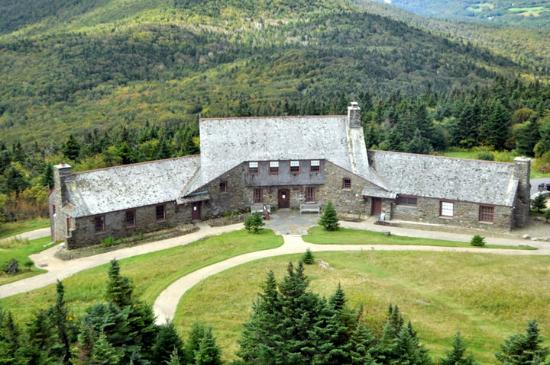Bascom Lodge atop Mount Greylock