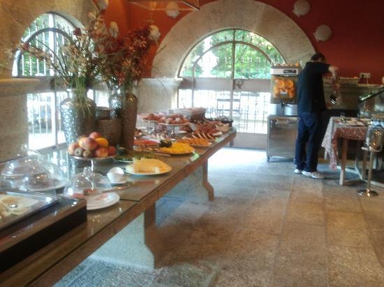 Pazo Los Escudos Hotel and Spa: desayuno